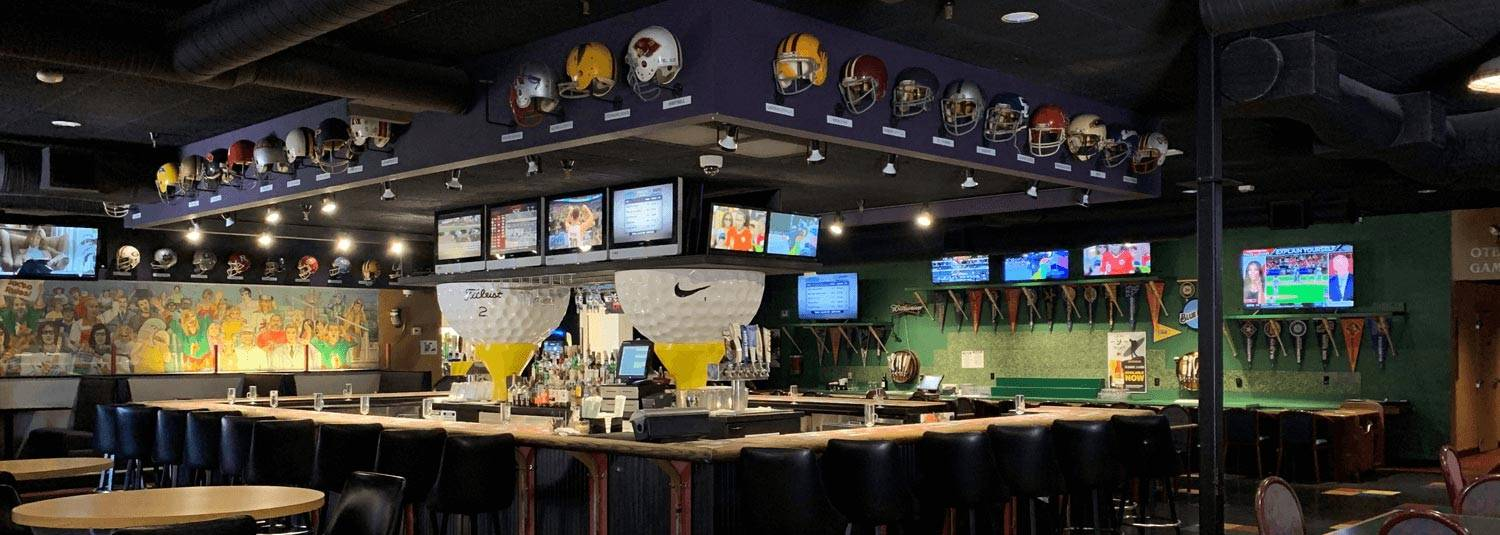 Max's Sports Bar Dining Interior